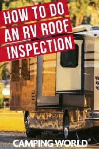 How to do an RV roof inspection