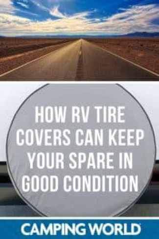 How RV tire covers can keep your spare in good condition