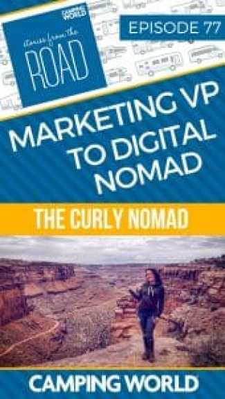 From marketing VP to digital nomad with Hannah from the curly nomad
