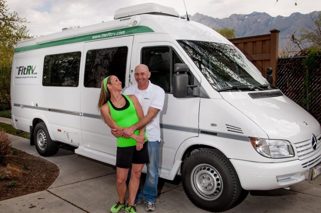 James and Stef, The Fit RV