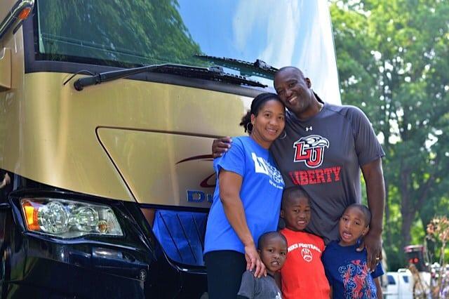 A Full House—Keith & Tia Sims