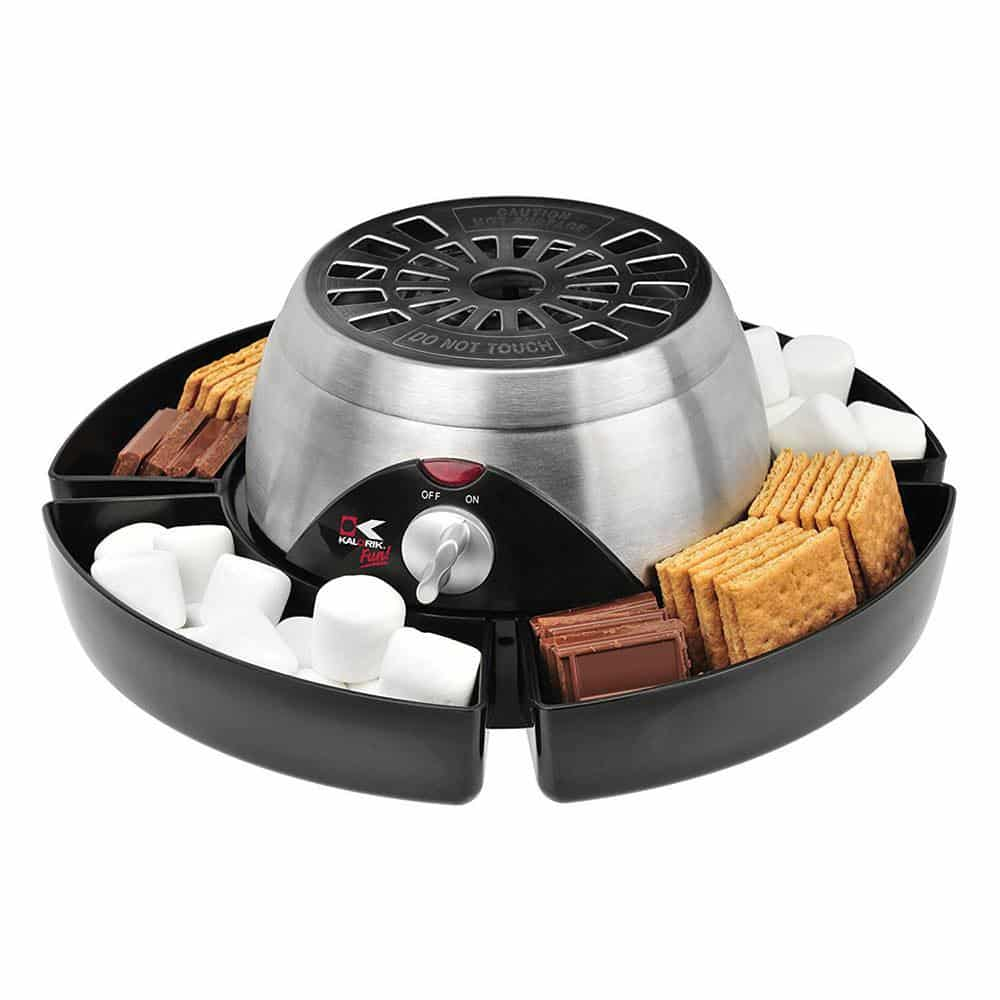 2-in-1 Smores/Chocolate Fondue Maker