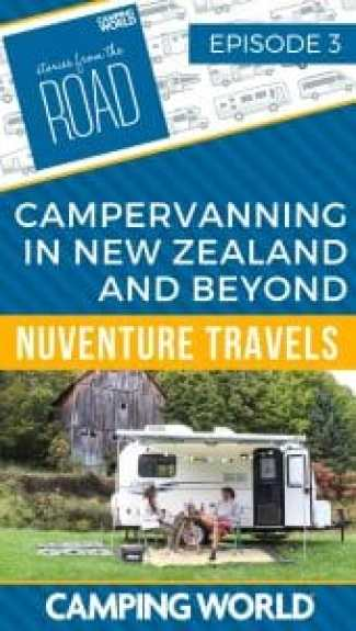 SftR 003 - Campervanning in New Zealand and Beyond with Nuventure Travels