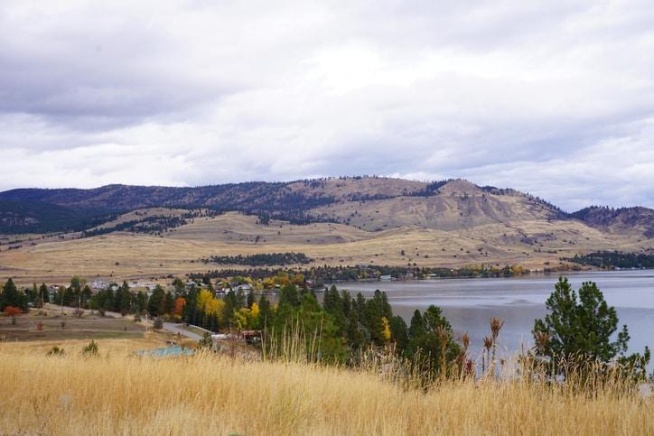 flathead lake montana camping
