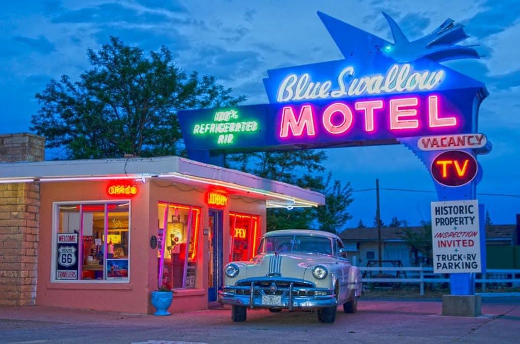 blue swallow motel tucumcari new mexico route 66