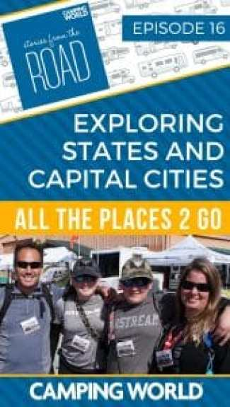Exploring states and capital cities with All the Places 2 Go