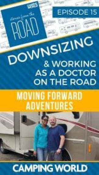 Downsizing and working as a doctor on the road