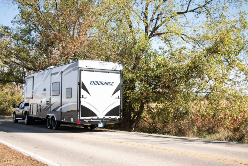 Fifth Wheel vs. Travel Trailer - Size