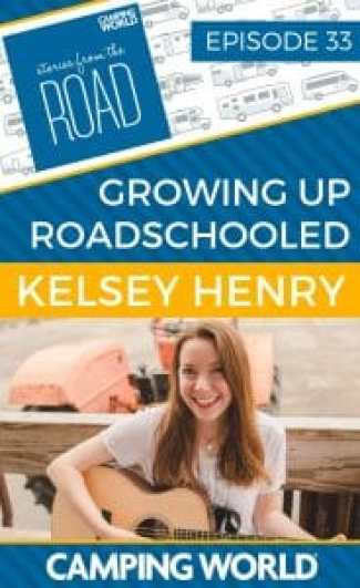 Kelsey Henry is a singer/songwriter, podcaster, and digital nomad from Texas. She is the host of The Positively Delighted Show podcast and blogs about positivity at PositivelyDelighted.com. From ages 11-17, she traveled full time in an RV with her parents. Tune in for her stories of growing up roadschooled! #rvlife #rvcampers #rvhack #rvliving #camper #camping #camperlife #happycamper #fulltimerving #fulltimervlife #storiesfromtheroad #digitalnomad