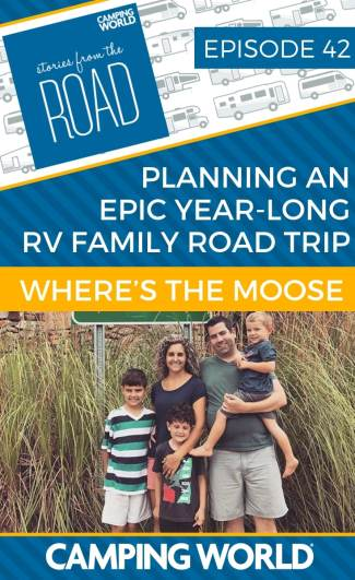 "Adam is a digital marketing ""RV-preneur"" who has been on the road with his family since the beginning of August. The family is planning an epic year-long RV family road trip in their travel trailer, Moose .#rvlife #rvcampers #rvhack #rvliving #camper #camping #campertrailers #camperlife #happycamper #fulltimerving #fulltimervlife #storiesfromtheroad #digitalnomad"