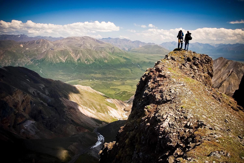 hiking Wrangell st Elias