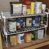 Foldable cabinet storage rack