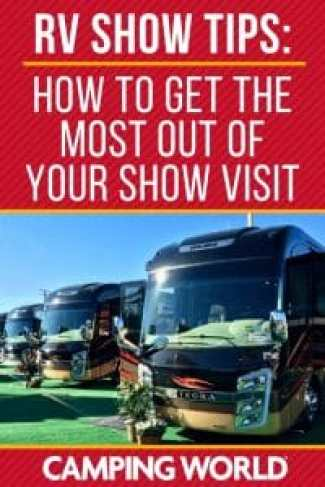 RV show tips
