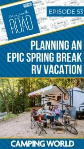Spring is just around the corner and if you haven't started planning your Spring Break RV vacation yet, you better get to it! Whether you have some ideas in mind or stumped on where to go, we've got you covered in this Camping Conversations episode. Sam and Kelsey talk all about Spring Break RV vacations, how to find the best things to do on your RV vacation, and also share a fun travel game to take on your road trip. #springbreak #rving #rvlife #happycamper #camping #rvvacation