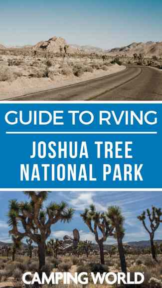 If you get into a conversation with a group of RVers on which national park is their favorite, it won't take long until someone claims Joshua Tree National Park. It's truly a camper's paradise with its wide open space and panoramic views. Check out this ultimate guide to RVing Joshua Tree National Park and plan your RV vacation! #nationalpark #joshuatree #rving #rvlife #camper #camping #camperlife #happycamper