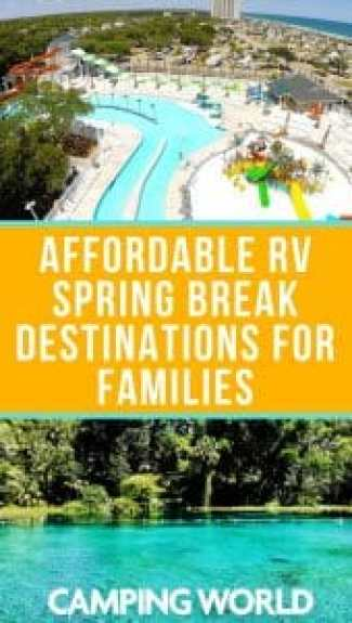 Affordable RV Spring Break Destinations for Families