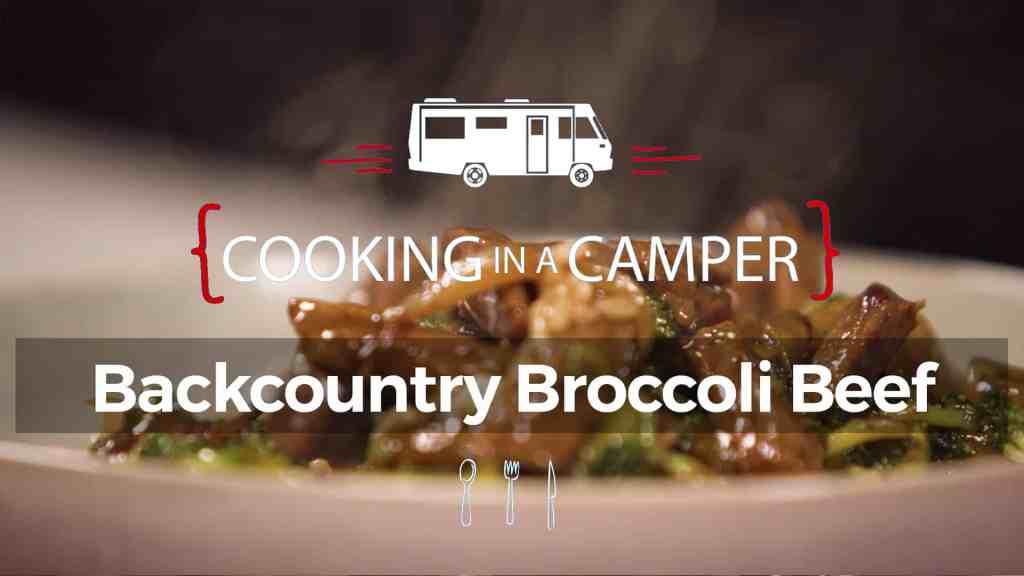 Backcountry Broccoli Beef