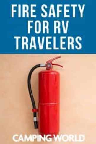 Fire Safety for RV Travelers