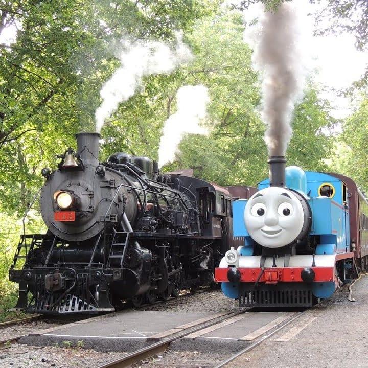 Thomas the Tank Engine on Delaware River Railroad