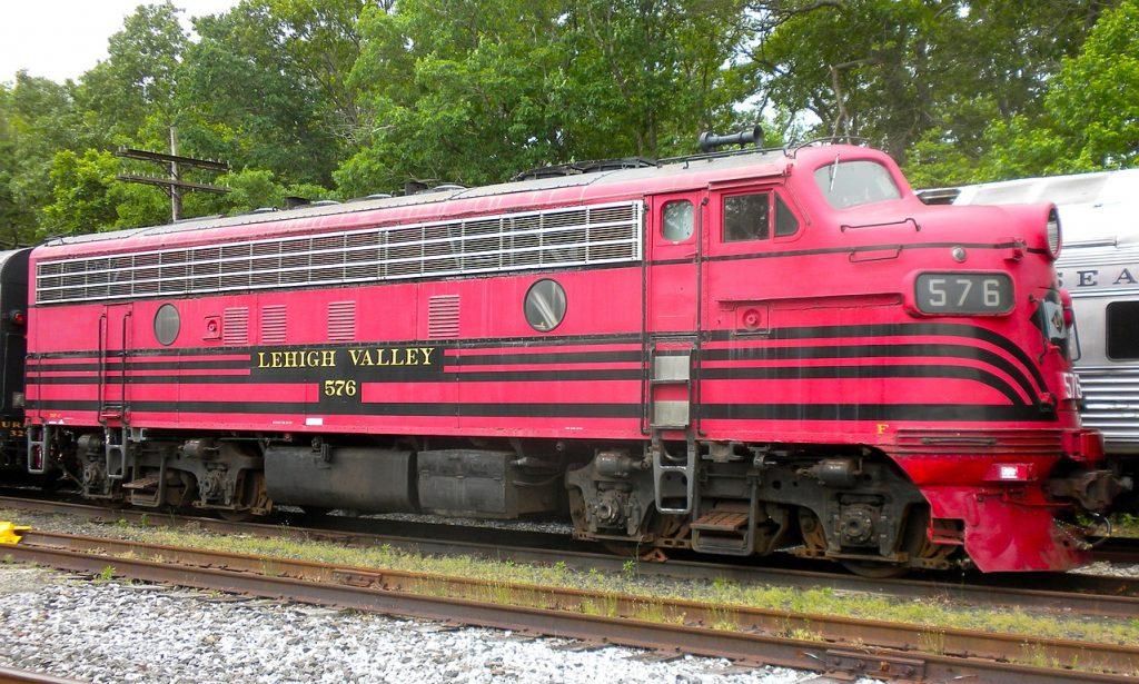 Cape May Seashore Lines Diesel Engine