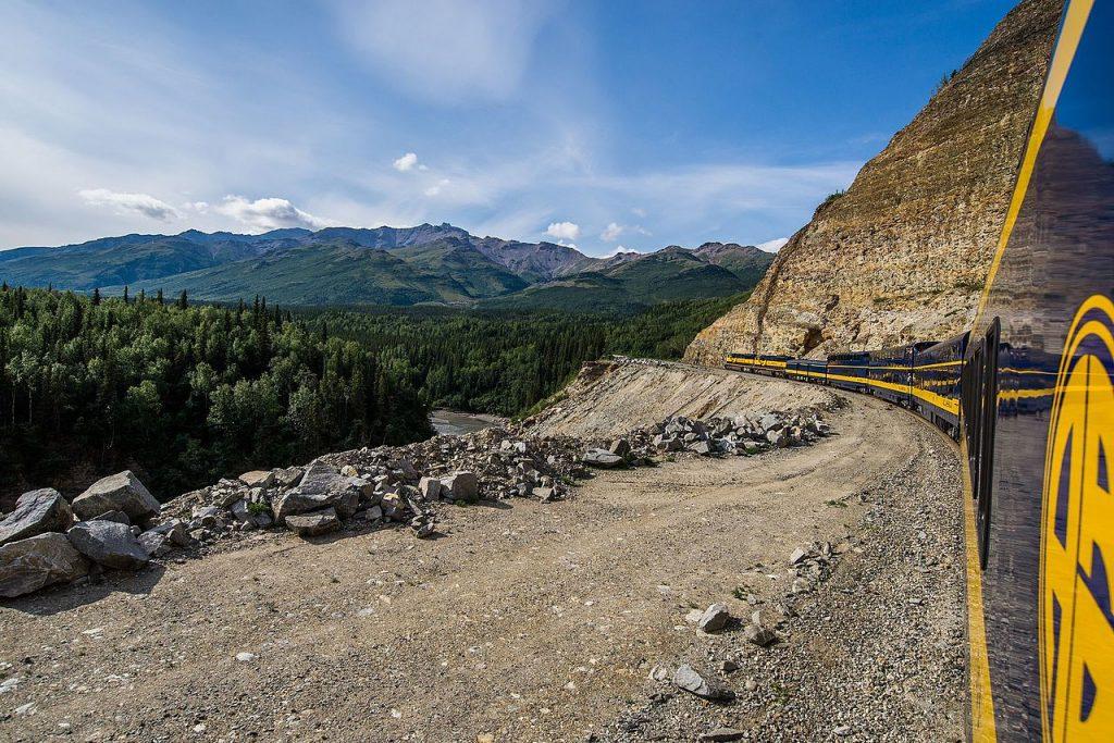 Denali Star Train in Summer