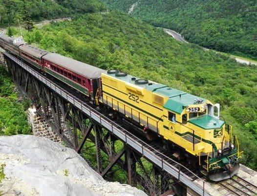 Excursion Trains in New Hampshire - Conway Scenic Railroad