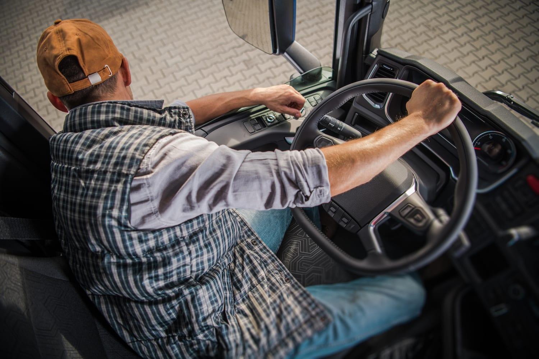driving a class A motorhome