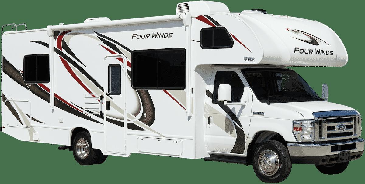 2020 thor motor coach four winds class c motorhome