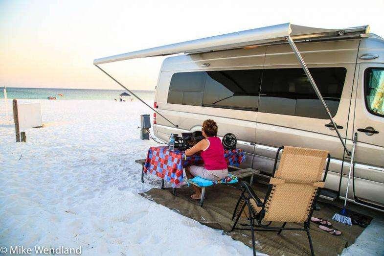 camping-on-beach-at-Camp-Gulf-Florida