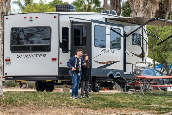 RVing in southern california