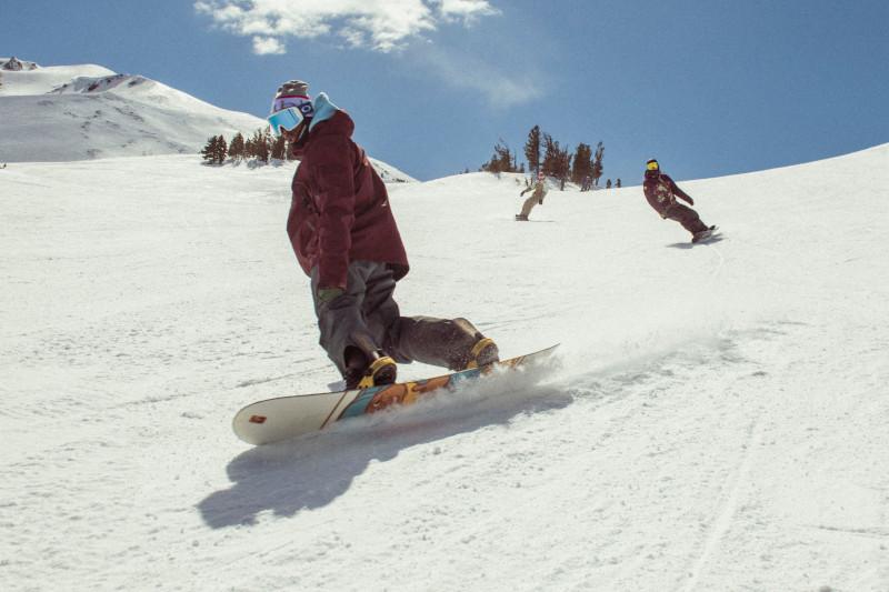 Russell Winfield Snowboarding Mt Bachelor