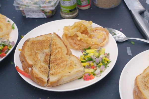 Philly Grilled Cheese Sandwich Recipe