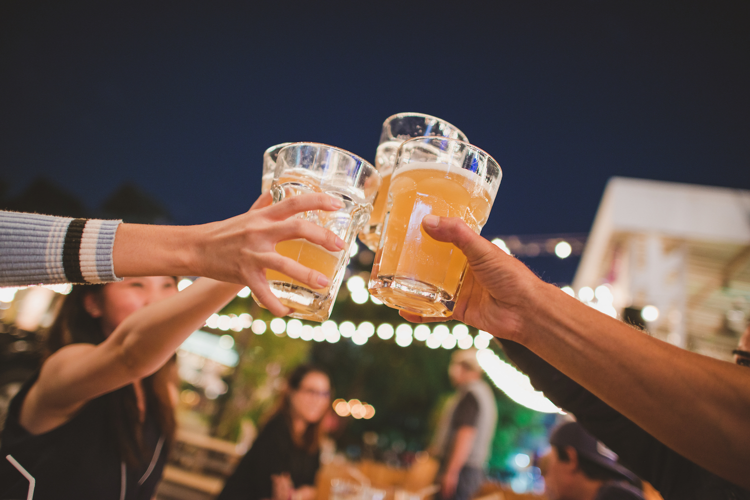 The Great American Beer Festival is a great place to gather around good drink.