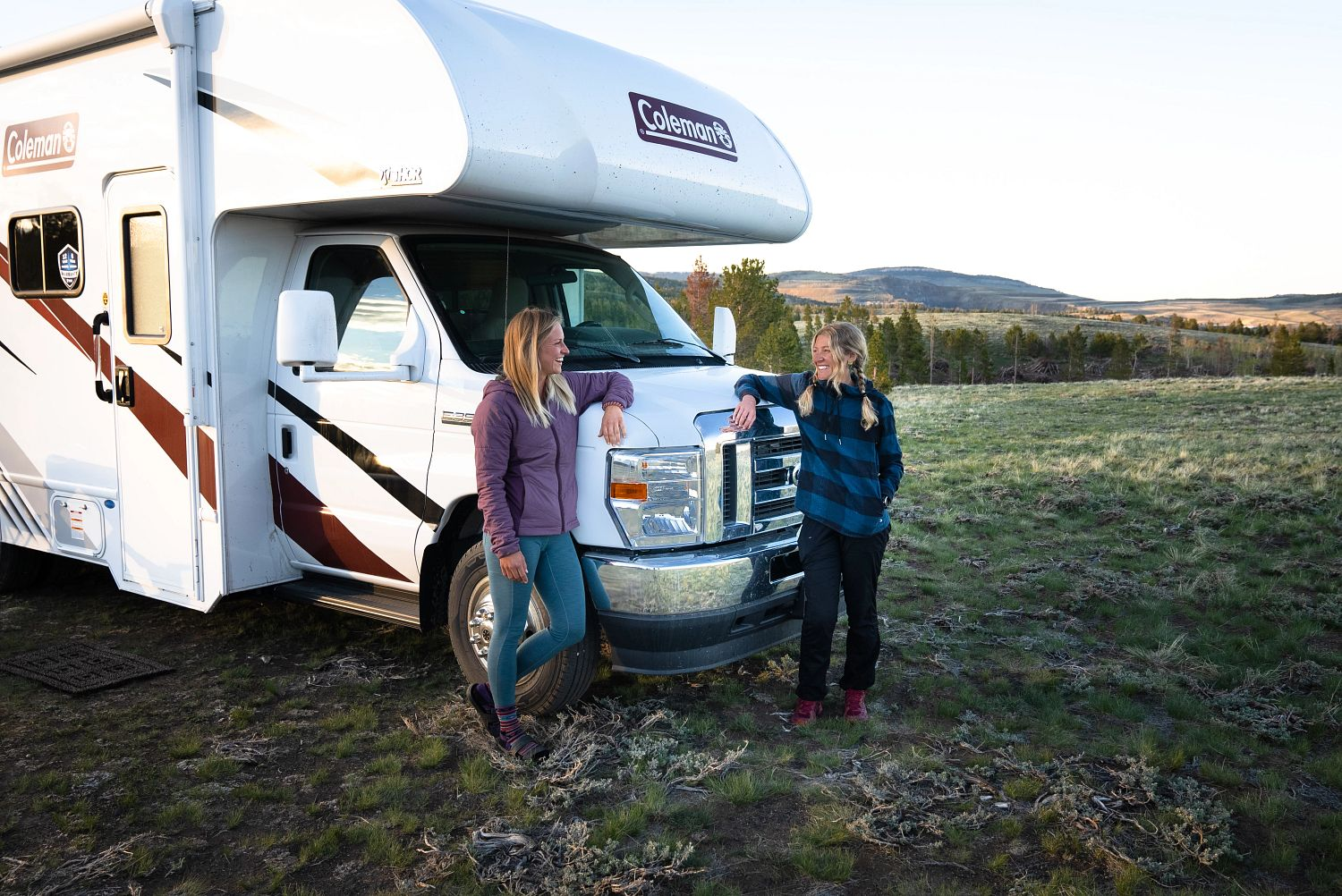 two women camping TheRockies travel different
