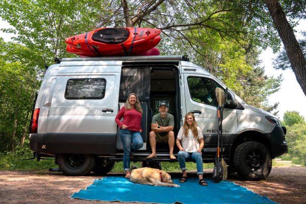 The Holcombe Family Famagogo Van
