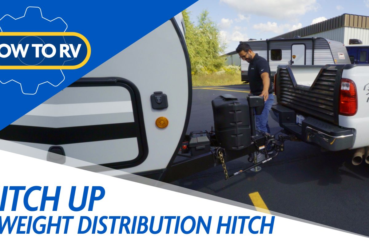 Hot to Hitch Up a Weight Distribution Hitch