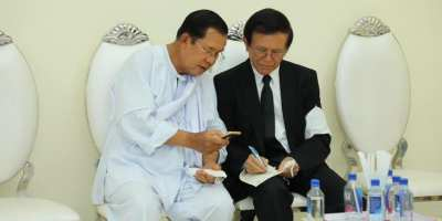 Hun Sen and Kem Sokha met on 5-5-2020