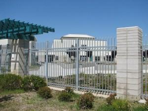 Ornamental Iron Fence and Trellis