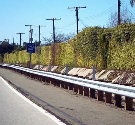 Highway Metal Beam Guard Rail