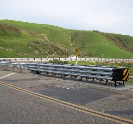 Highway Protection Tau II Crash Cushoin