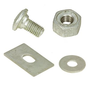 Guardrail Bolts, Nuts & Washers for Sale