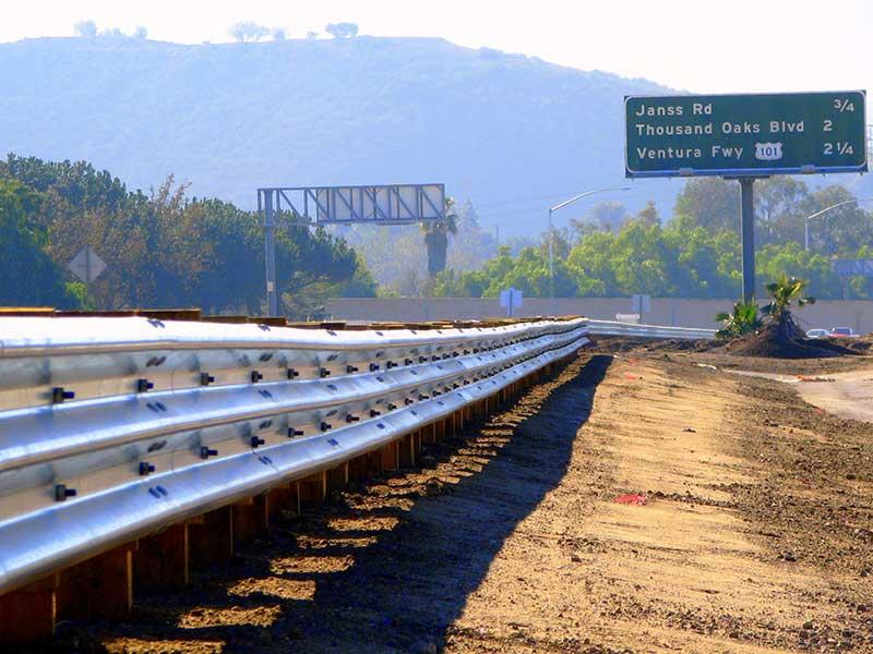 Guardrail Installation C Amp W Construction Specialties