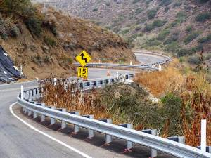 W-Beam Guardrail Installation