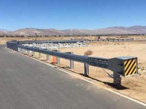 Honda Test Track Guardrail Installation