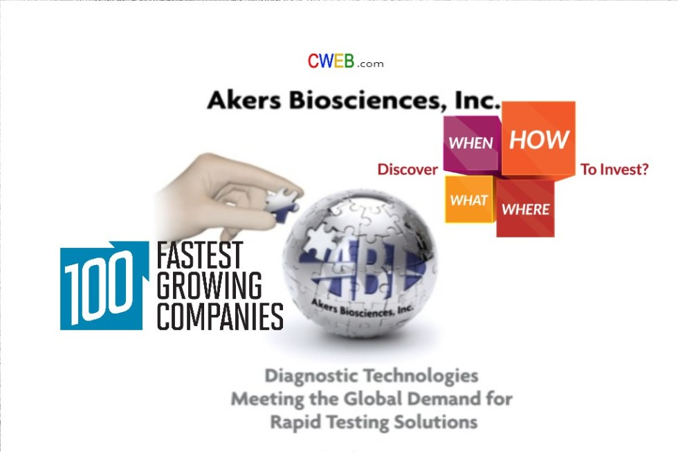 Who Will Buy Akers Biosciences Inc - CWEB.com - Trending News ...