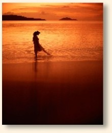 Page - PLR Therapy - Girl on beach