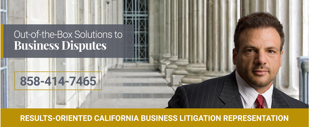 Results-Oriented california business litigation representation