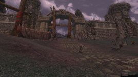 The gates of Fornost