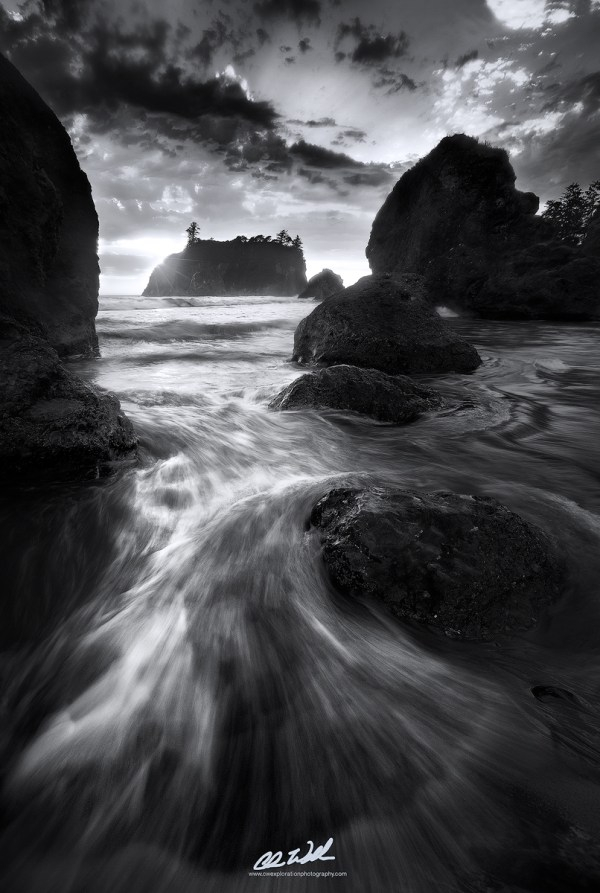 Experiment In Black And White Landscape