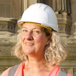Heather Newton Head of Conservation Canterbury Cathedral
